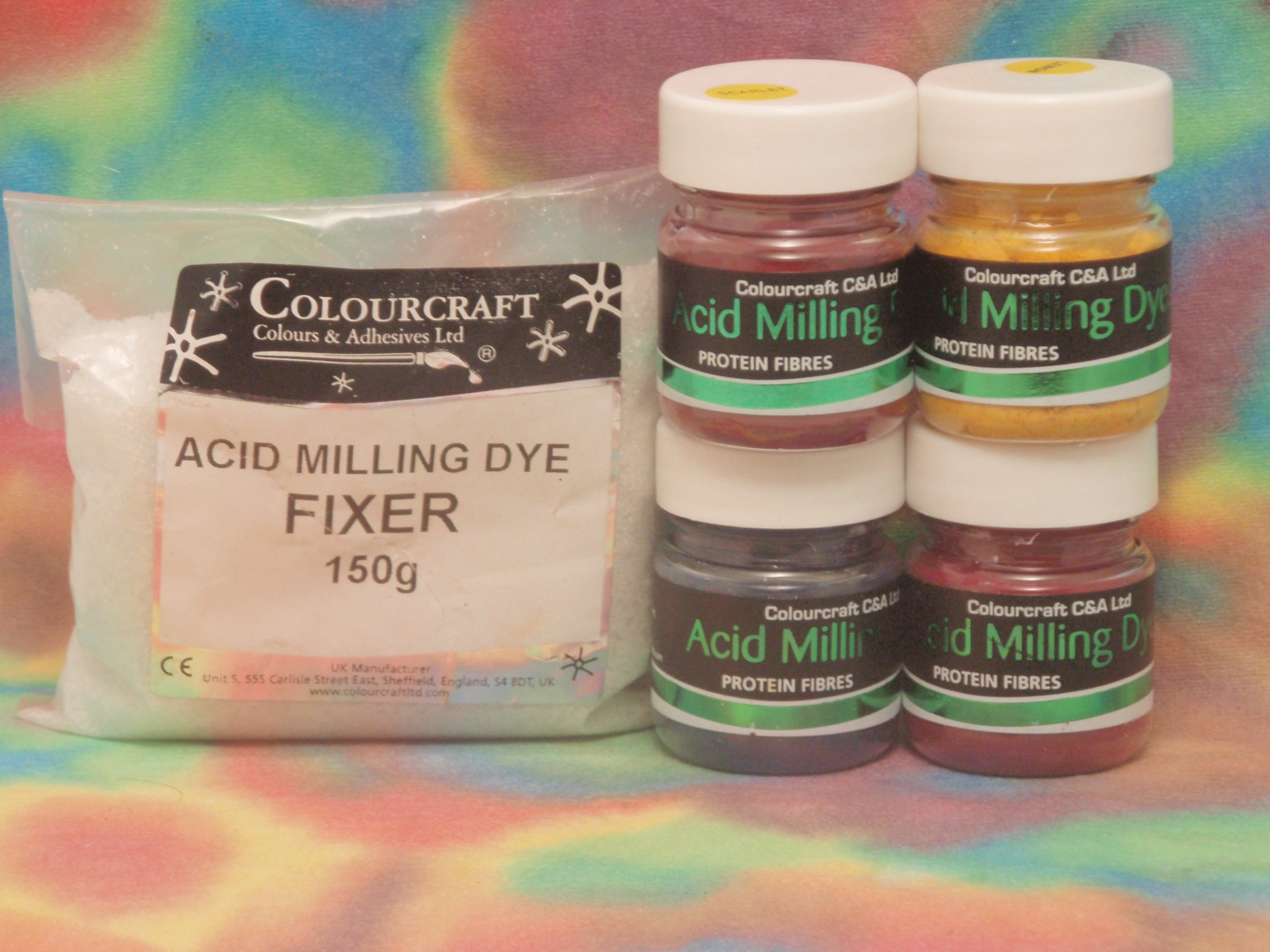 Acid Dye Intro Pack 4x10g- L