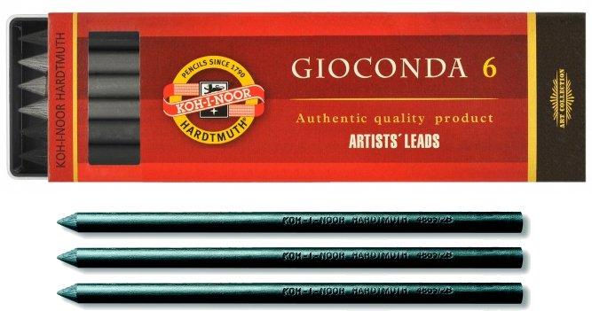 Graphite Lead 6B - 6 x 5.6mm Pack