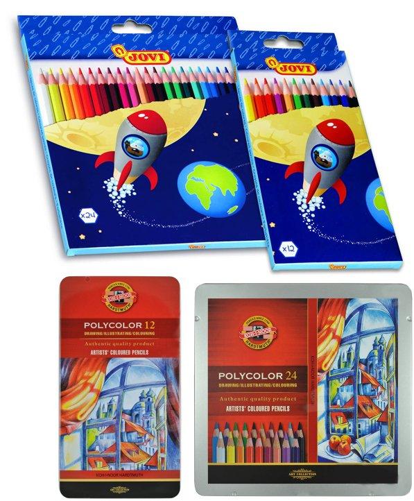 Coloured Pencils Pack of 12 Asstd Colours (Artist)