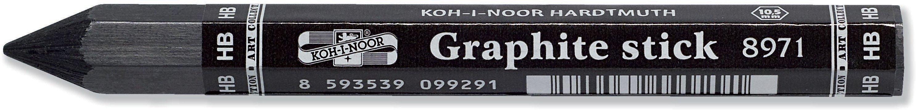 Progresso Extra Thick Solid Graphite Pencil- Single 2B