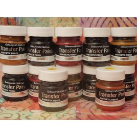Fabric Transfer Paint Intro Pack 6x28ml