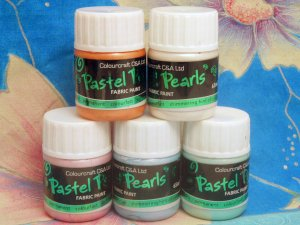 Pastel Pearl Fabric Paint