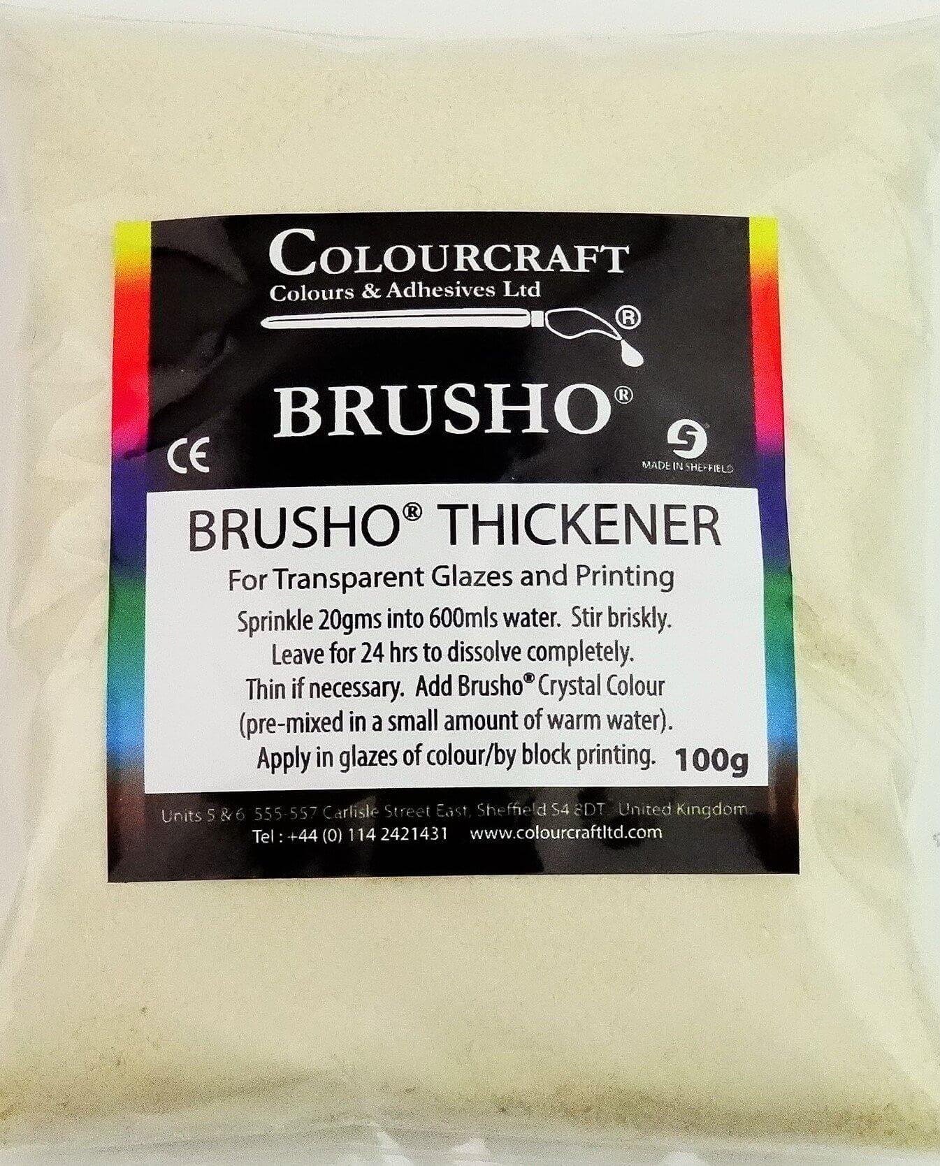 Brusho Thickener 100g