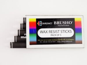 Wax Resist Sticks - Pack of 5