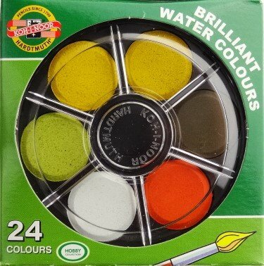 Intense Travel Water-Based Dye Sketch Set 24