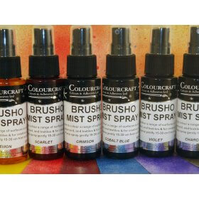 Brusho Acrylic Mist Spray 60ml