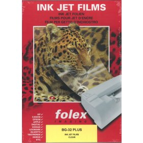 A4 Inkjet Printable Acetate - Pack of 10 Sheets