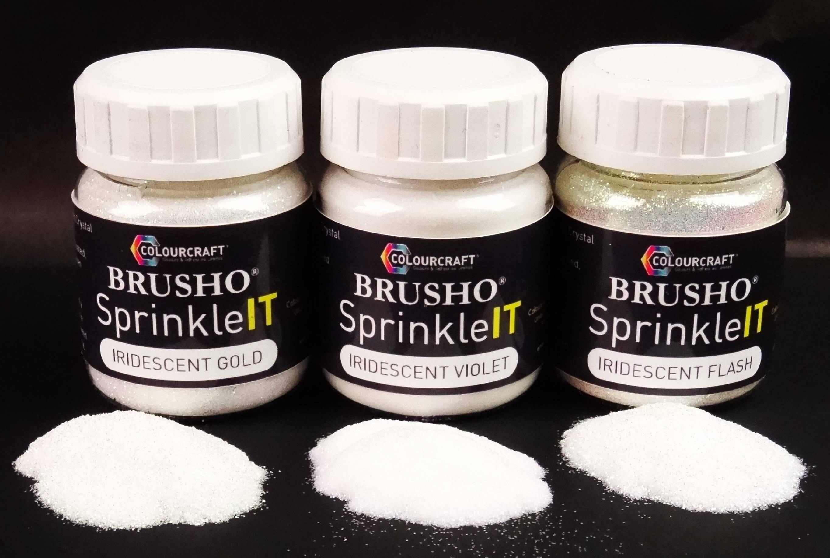 Brusho SprinkleIT Iridescent Flash 10g