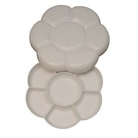 Strong Plastic Daisy Palette - Pack of 2