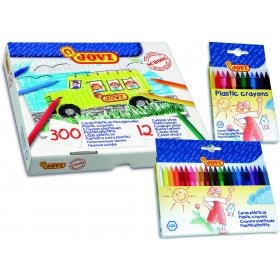 Plastic Crayons Assorted