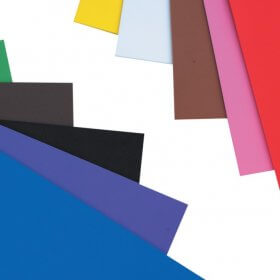 Foam Sheets 228mm x 305mm - 10 Assorted Sheets