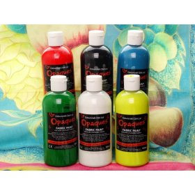 Fabric Paint Opaque+ Assorted - 6 x 300ml