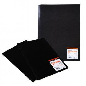 Matt Black Soft Cover Sketchbook