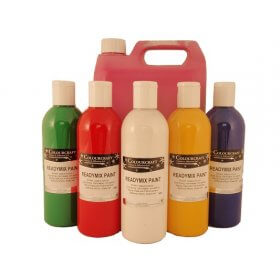 Eco Readymix Paint Assorted - 10 x 500ml
