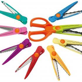 Paper Shaper Scissors Set of 8