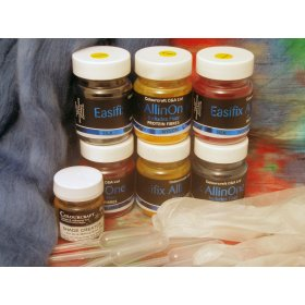EasiFix ALLinONE Acid Dye Crystals Complete Starter Kit