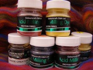 Conc Acid Milling Dyes 6 x 10g