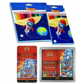 Coloured Pencils Pack of 12 Asstd Colours (Artist)