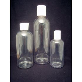 150ml Clear Plastic Bottle [F]