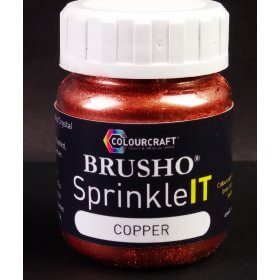 Brusho SprinkleIT Metallic Copper 10g