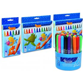 Maxi Felt Tip Pens Assorted Pack of 24