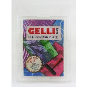 "Gelli Plate 5"" x 7"" (125mm x 175mm)."