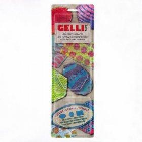 Gelli Plate Set - Oval, Hexagonal & Rectangular