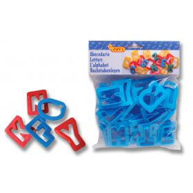 Letter Cutters - Set of 26 + 2 Ended Shape Cutters