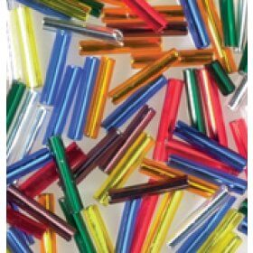 Bugle Beads 12g- Assorted