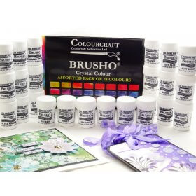 Brusho Starter Packs  - Fixed Assortment 24 colours.