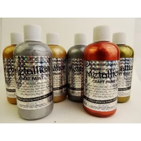 Aztec Eco Metallic Paint Starter Pack - 6 x 150ml **While Stocks Last**