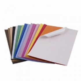 Self Adhesive Foam Sheets 228mm x 305mm- 10 Sheets