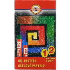 Oil Pastels (Student) Assorted - Set of 12
